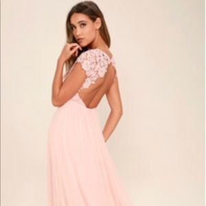 Lulus Pink Dress